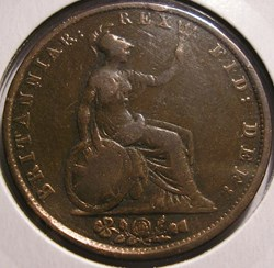 William IV - HalfPenny 1831 Kingdom of G...