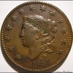 1831 One Cent