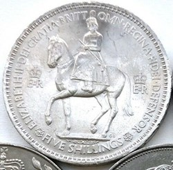 Elizabeth II - Five Shillings, 1953 Coro...