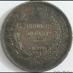 1898 Potosi - 50 Centavos