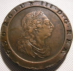 "George III - 2 Pence ""Cartwheel"" 1797 Gr..."