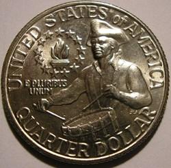 1976 D Quarter Dollar - Bicentennial (ex...