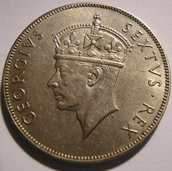 George VI - 1 Shilling 1949 - East Afric...