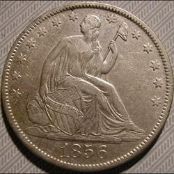 1856 O - Half Dollar