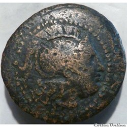Lysimachos, Kingdom of Thrace - AE22 - c...