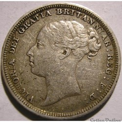 Victoria - Sixpence 1885 Kingdom of Great Britain
