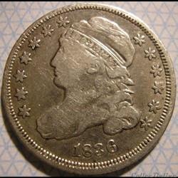 1836 Dime - 10 Cents