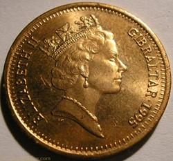 Elizabeth II - 2 Pence 1995 - Gibraltar