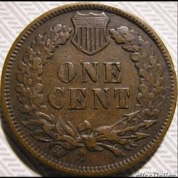 monnaie monde etat uni 1894 one cent ex 2
