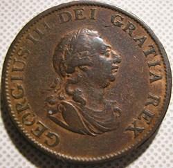 George III - 1/2 Penny 1799 Great Britai...