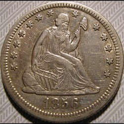 1856  New Orleans 25 Cents