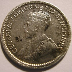George V - 5 Cents 1917