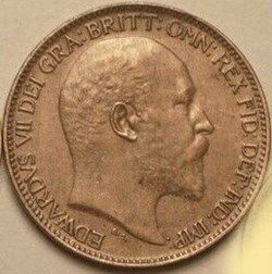 Edward VII - Farthing 1906 - United King...