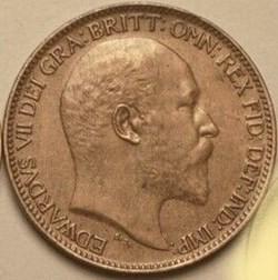 Edward VII - Farthing 1906 - United King...