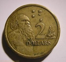 Elizabeth II - 2 Dollars 1988 - Australi...