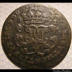 1749 Royaume de Sardaigne, Soldo - Charles-Emmanuel III de Savoie