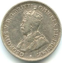 George V - Three Pence 1918 Melbourne - ...