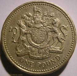 Elizabeth II - One Pound 1993 - UK