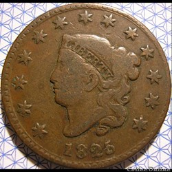 1825 One Cent