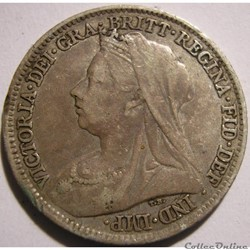 Victoria - Sixpence 1901 Kingdom of Great Britain