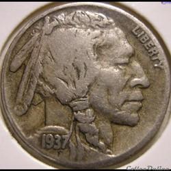 1937 Denver 5 Cents