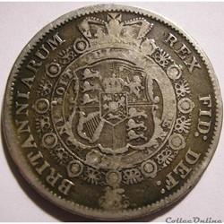 George III - Half Crown 1817 - United Kingdom of Great Britain