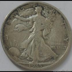1935 Denver Half Dollar