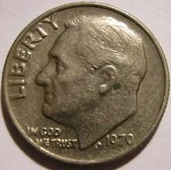 1970 Dime