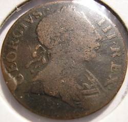 1773 Farthing No Regal Evasion - George ...