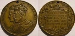 George V & Mary - 1911 Coronation Medall...