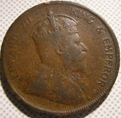 Edward VII - One Cent 1908 - Straits Set...