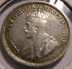 George V - 5 Cents 1929 Newfoundland