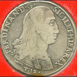 1798 Royaume de Sicile 12 Tari - Ferdinando III de Bourbon-Siciles