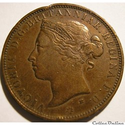 Victoria - 1/12 Shilling 1877 H - Jersey