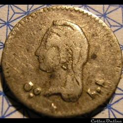 México - 1/4 Real 1849 Go - 1st Republic