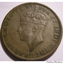 George VI - 1 Shilling 1937 - East Afric...