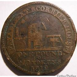 1812 One Penny - Scorrier House - Cornwa...