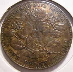 Victoria - One Penny 1856 - Nova Scotia