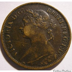Victoria - One Farthing 1885 - Kingdom o...