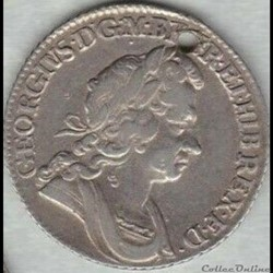 George Ist - Shilling 1723 Kingdom of Great Britain