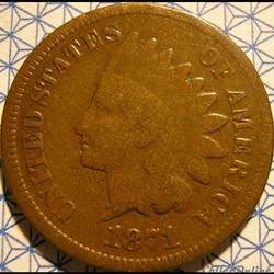 1871 One Cent