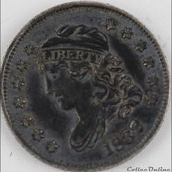 1832 Half Dime - 5 Cents