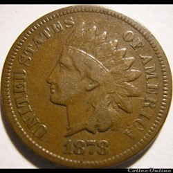 1878 One Cent