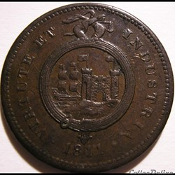 1811 One Penny - Bristol & South Wales