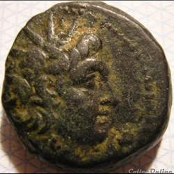 Antiochos VI Epiphanes Dionysos - AE15 B...
