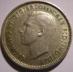 George VI -  6 Pence 1946 - Australia