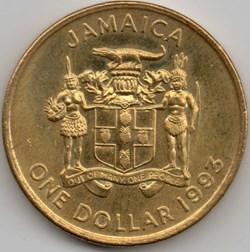 Elizabeth II - One Dollar 1993 - Jamaica
