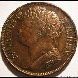 George IV - 1 Penny 1823 Ireland