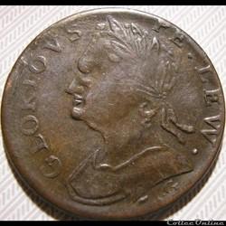Edward Pellew - HalfPenny No Regal, Token - ca. 1771-97