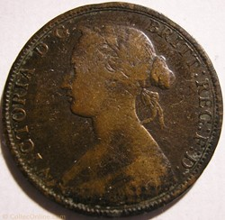 Victoria - One Cent 1864 - New Brunswick